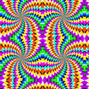 colorful peripheral drift illusion