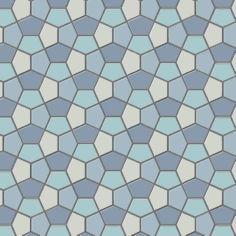 5-sided tiling pattern